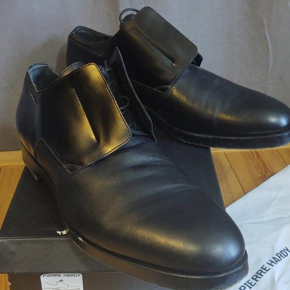 Pierre Hardy Black Men's  EU45 US12 Calf/Cordovan